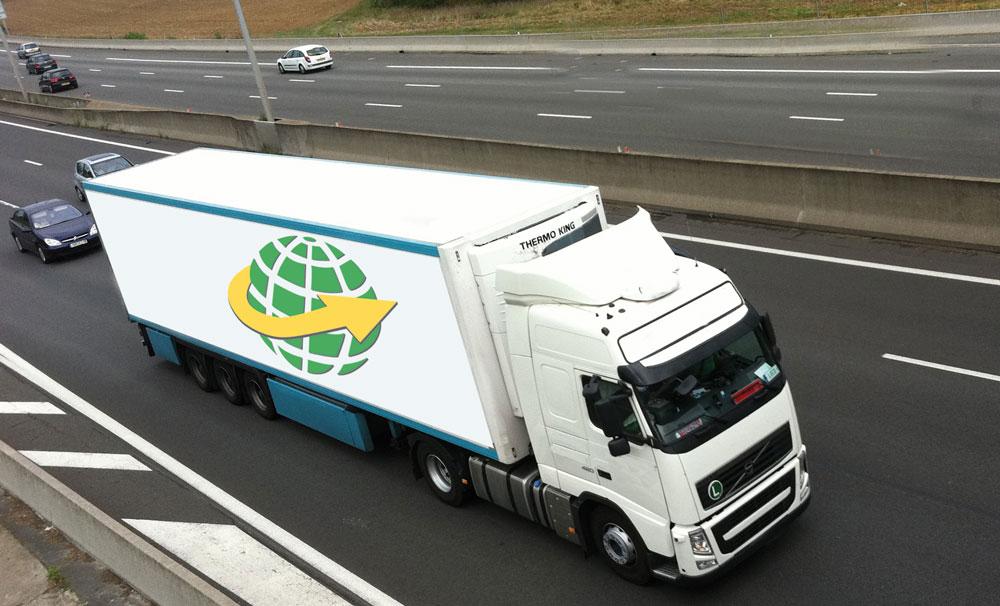 camion frigo trransport de marchandise France - Turquie - Europe