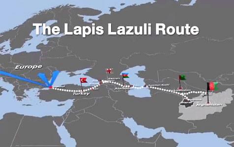 Transport reliant l'Afghanistan à la Turquie